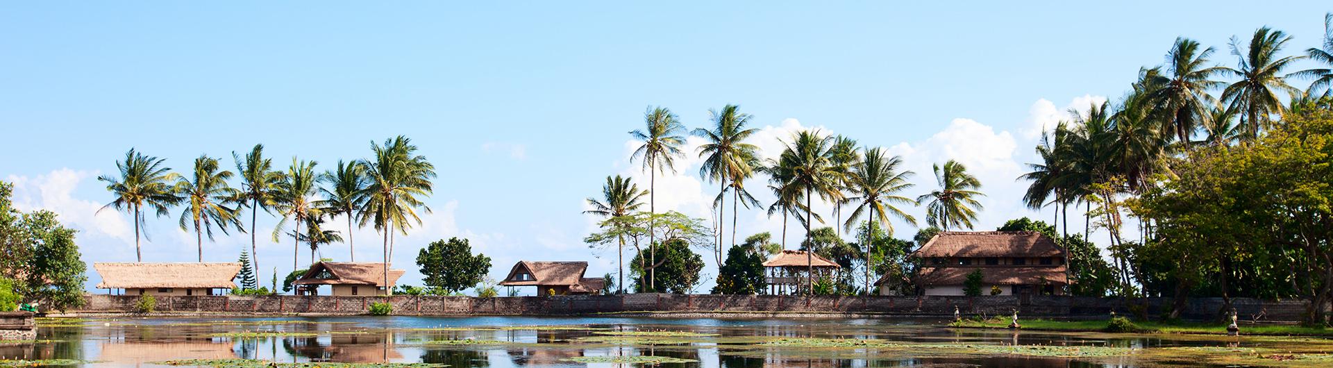 Alcohol rehab in Bali set among beautiful lagoon landscape